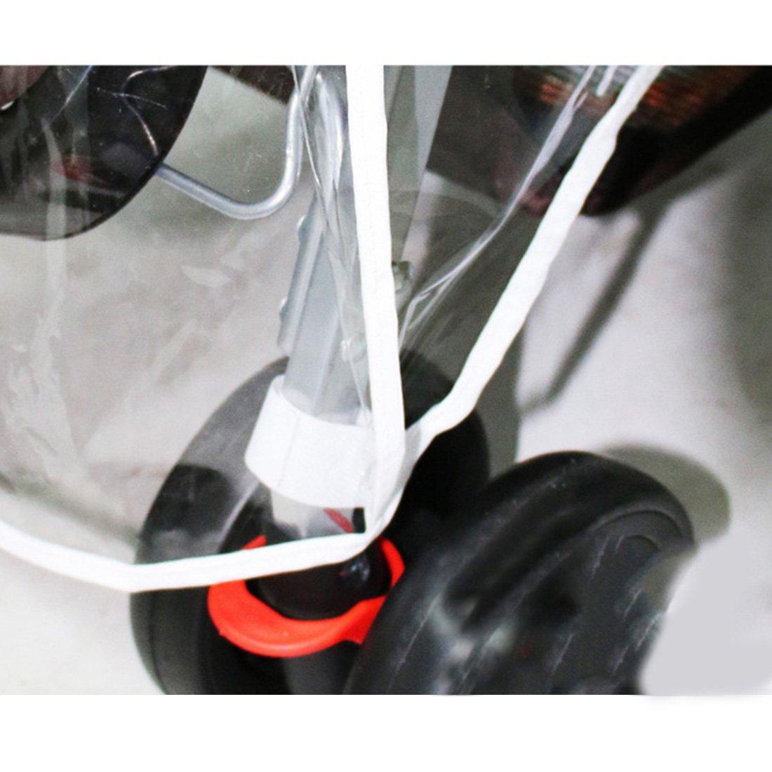 Jinshou Universal Waterproof Twins Baby stroller Rain Cover Side by side Windproof Protection