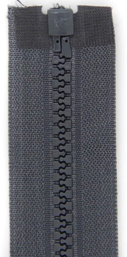 blau, 55cm teilbar 5mm Spirale NTS N/ähtechnik 1 Rei/ßverschluss aus Kunststoff