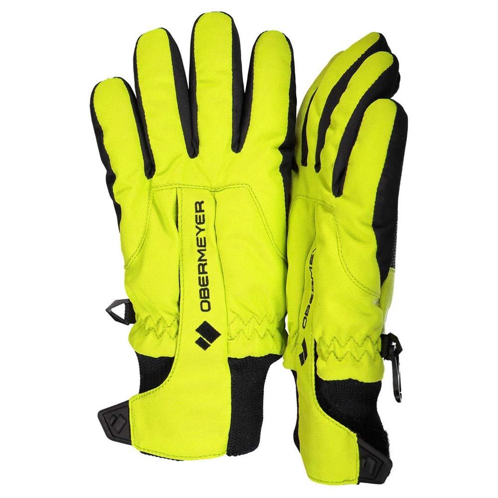 Green Flash SM Obermeyer Kids Unisex Thumbs Up Gloves Little Kids//Big Kids