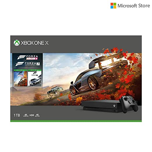 Microsoft 1TB Xbox One X Console (Free Games: Forza Horizon 4 and