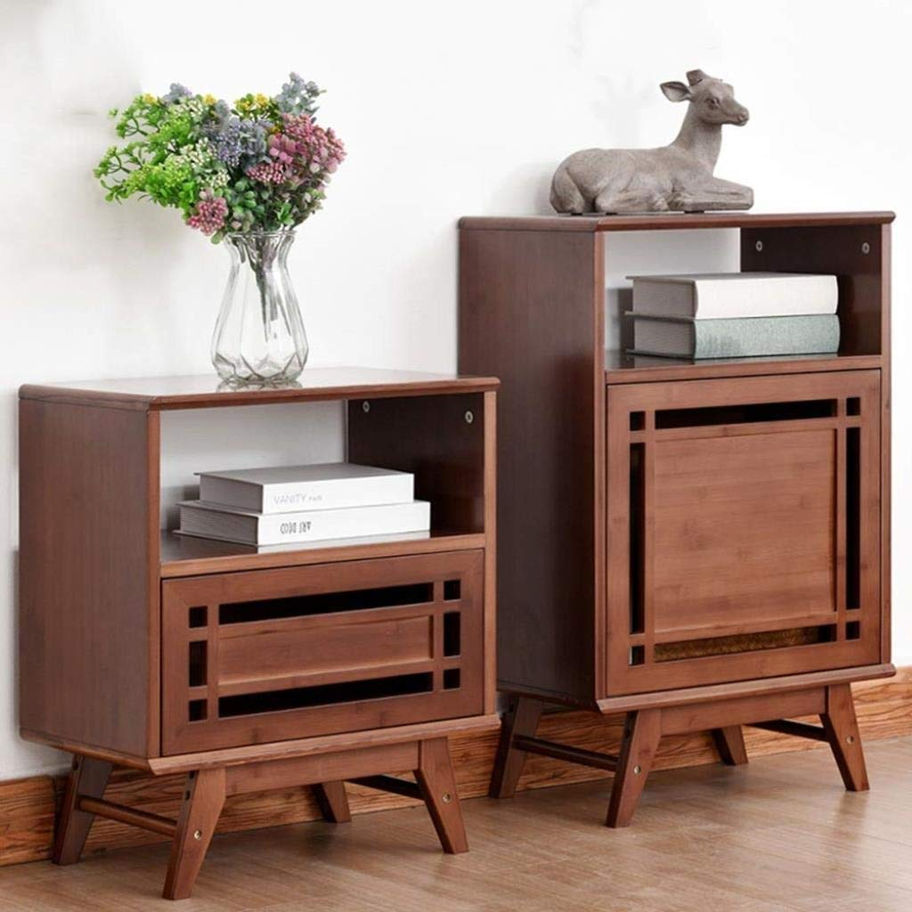 Amazon.com: BJLWTQ - Mesita de noche con mueble de color ...