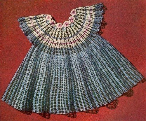 Crochet Baby Dresses - 8