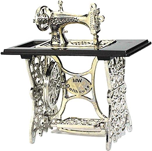 Máquina de coser de juguete artesanal para decoración del hogar ...