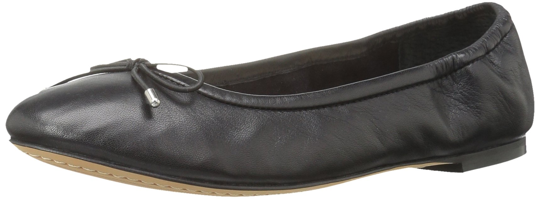 206 Collective Women's Madison Ballet Flat, Black, 7.5 B US
