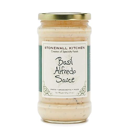 Stonewall Kitchen Basil Alfredo Pasta Sauce