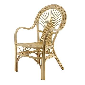 Rotin Design REBAJAS : -29% Sillon de ratan y bambu Roméo ...