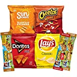 Frito-Lay Lunch Box Builder, Variety Box of Chips and Chewy Bars, 30 Count, 27.6 Ounce