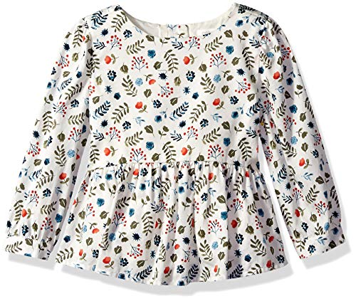 Gymboree Baby Girls Long Sleeve Graphic Tee, Dino Flower, 12-18 Mo from Gymboree