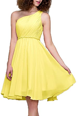 99Gown Prom Dresses Short Cocktail Dress One Shoulder Prom Formal Dresses For Women Bridesmaid, Color