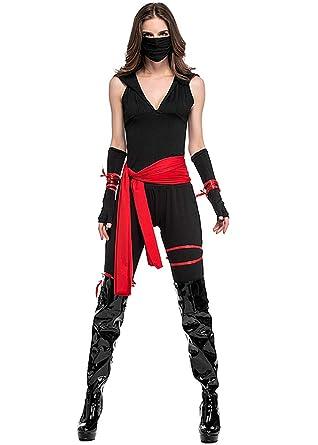 Amazon.com: Tiaoqi Womens Ninja Killer Cosplay Costume for ...