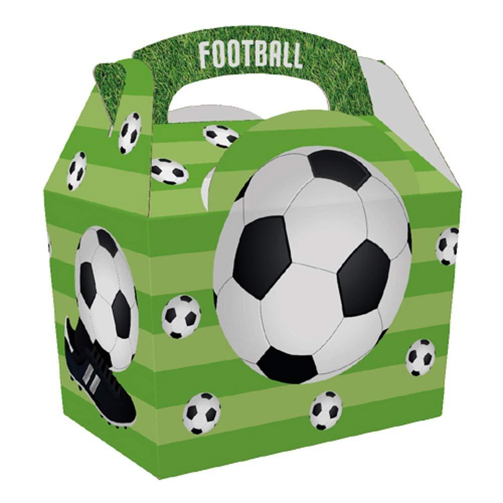 Football Party Scatola porta pranzo per feste confezione da 10
