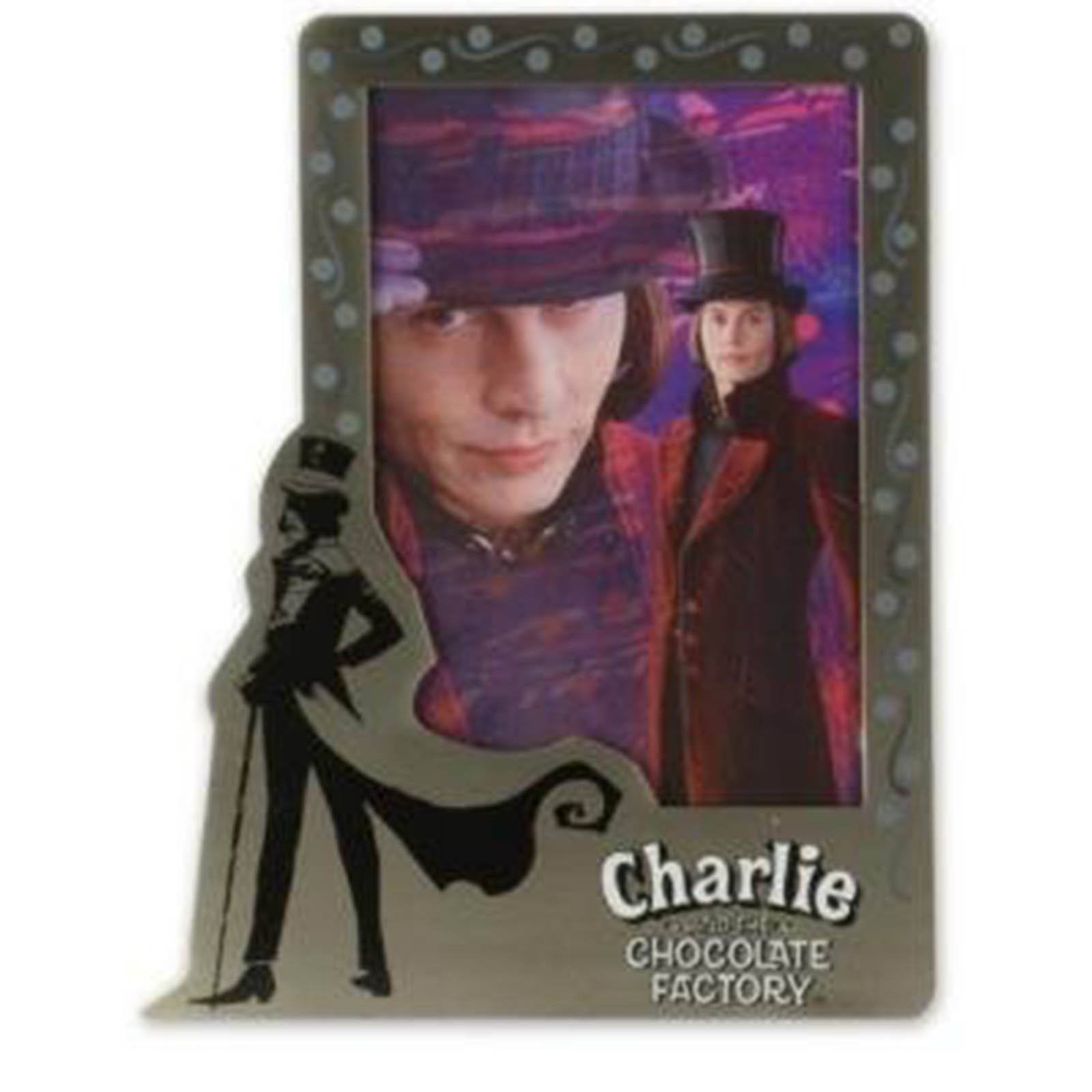 Charlie and the Chocolate Factory Vertical Pewter Frame 4'' X 6''