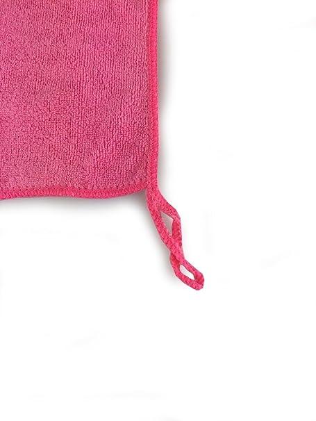 Productos Viridis - 5 unidades de cocina paños de fibra de micro - completa con libre de malla bolsa de lavado - sin pelusas - limpia y elimina suciedad ...