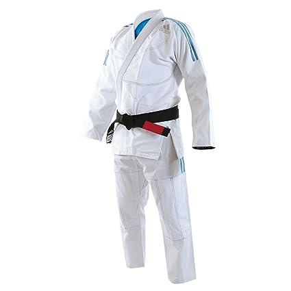 kimono judo adidas blu
