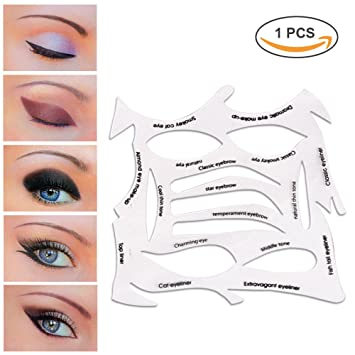 Amazoncom LetGoShop In Eye Stencil Models Template Cat - Eyeshadow template
