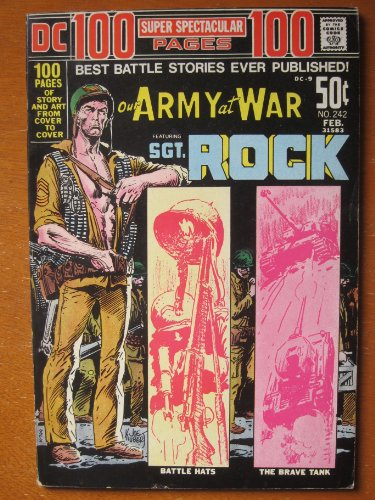 Our Army at War #242 (DC 100-Page Super Spectacular DC-9). Sgt. Rock, Haunted Tank, Johnny Cloud, Capt. Storm