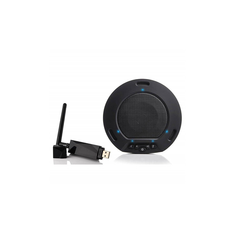 HuddleCamHD hp-air-bk |ワイヤレススピーカーフォンエコーNoise Cancellation 360全方向性USBマイクブラック   B01G2PSBOS