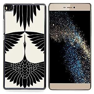 """Planetar ( Piedras Arte diamante Rubí Esmeralda"""" ) Huawei Ascend P8 (Not for P8 Lite) Fundas Cover Cubre Hard Case Cover"""