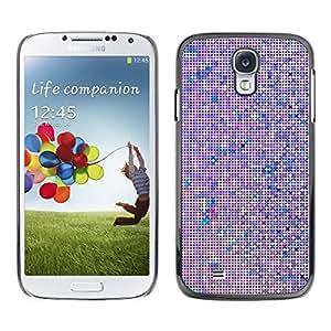 SKCASE Center / Funda Carcasa - Arte Monitor púrpura;;;;;;;; - Samsung Galaxy S4