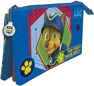 Patrulla Canina Estuche portatodo con Tres Compartimentos: Amazon.es: Juguetes y juegos