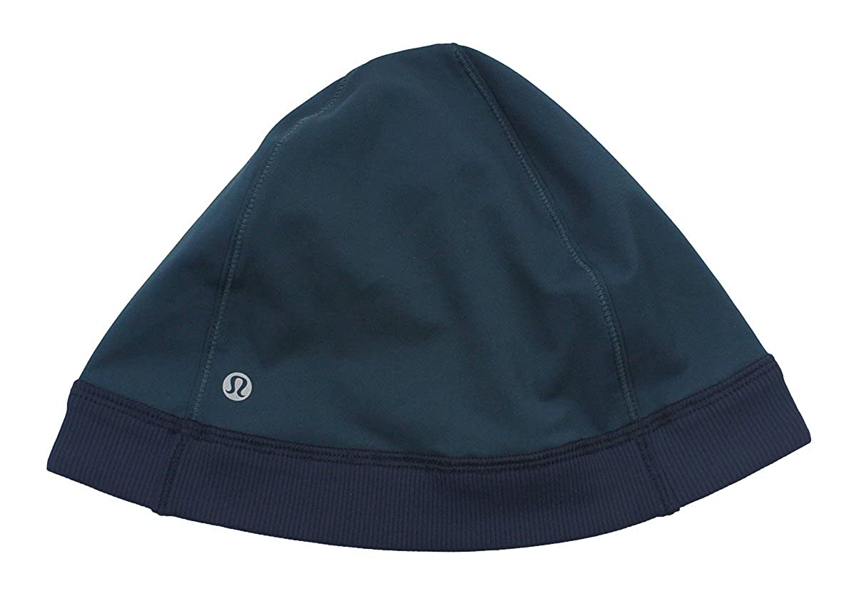 7d3400720827a Lululemon Mens Indochine Blue Inkwell Out Run Beanie  Amazon.ca  Clothing    Accessories