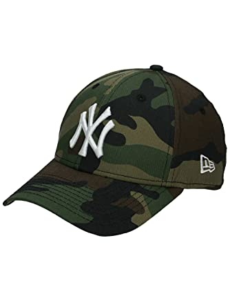 New Era Uomo Essentials York Yankees 9forty Capellino Da Baseball -  Mimetico 430e932ba721