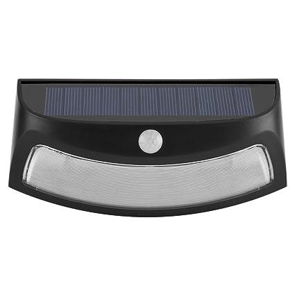 Luz Solar 8 LED Luz de Sensor de Movimiento de Energía Solar Impermeable Luz de Pared