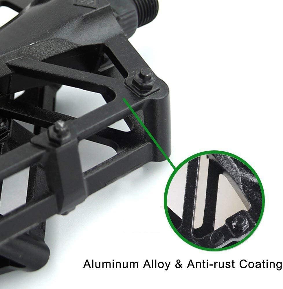 RONSHIN Paire de p/édales de v/élo en Alliage daluminium antid/érapant Ultra l/ég/ères pour VTT