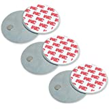 4VWIN Magnetic Attachment Holder for Ceiling Mounted Security Driveway Alarm Wireless Doorbells or Motion Sensors Easy Installation Set of 3
