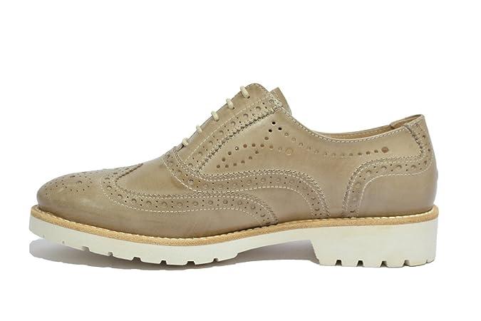 NERO GIARDINI Francesine tortora 7191 scarpe donna mod. P717191D