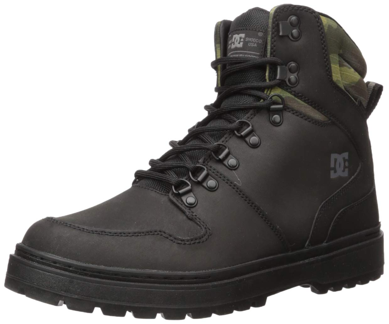 DC Men's Peary TR Snow Boot, Black camo, 10 M US by DC