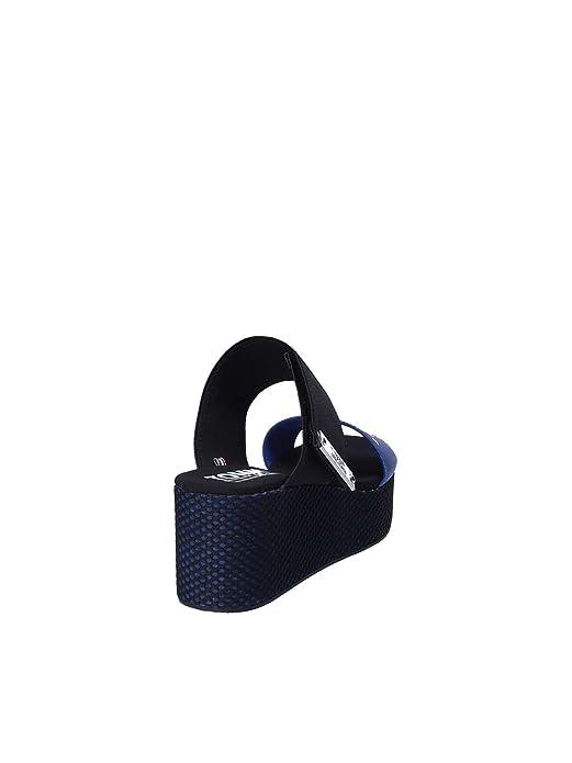 Tommy Hilfiger EN0EN00217 Sandales compensées Femmes Bleu 41