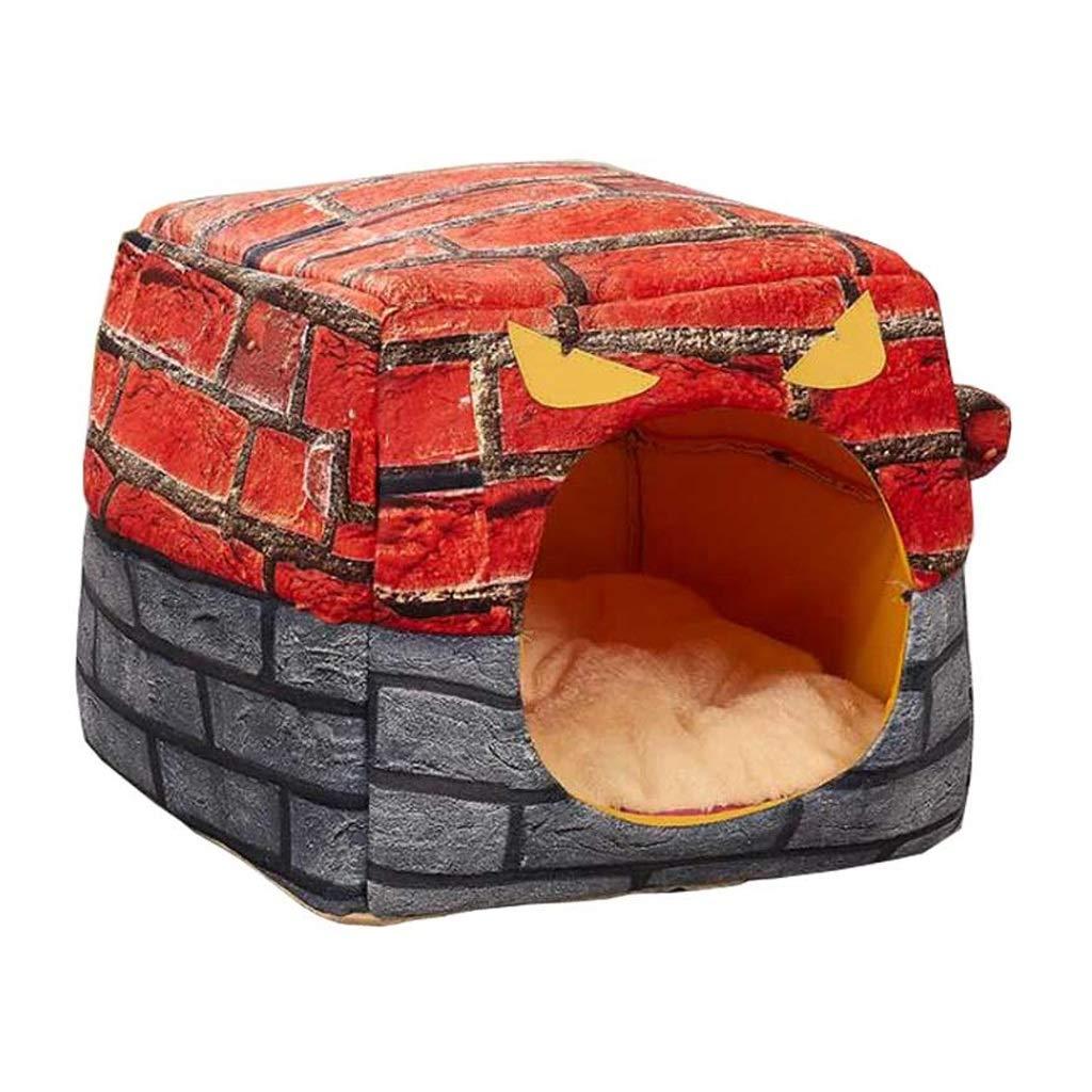 353532cm C_-1X Pet Nest, Pet House, Warm Nest, Nest, Cat House, Cat Litter, Cat Room, Pet Bed, (35  35  32cm) (Size   35  35  32cm)