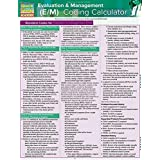 Evaluation & Management (E&m) Coding Calculator: Quickstudy Laminated Reference Guide (Quick Study Academic)