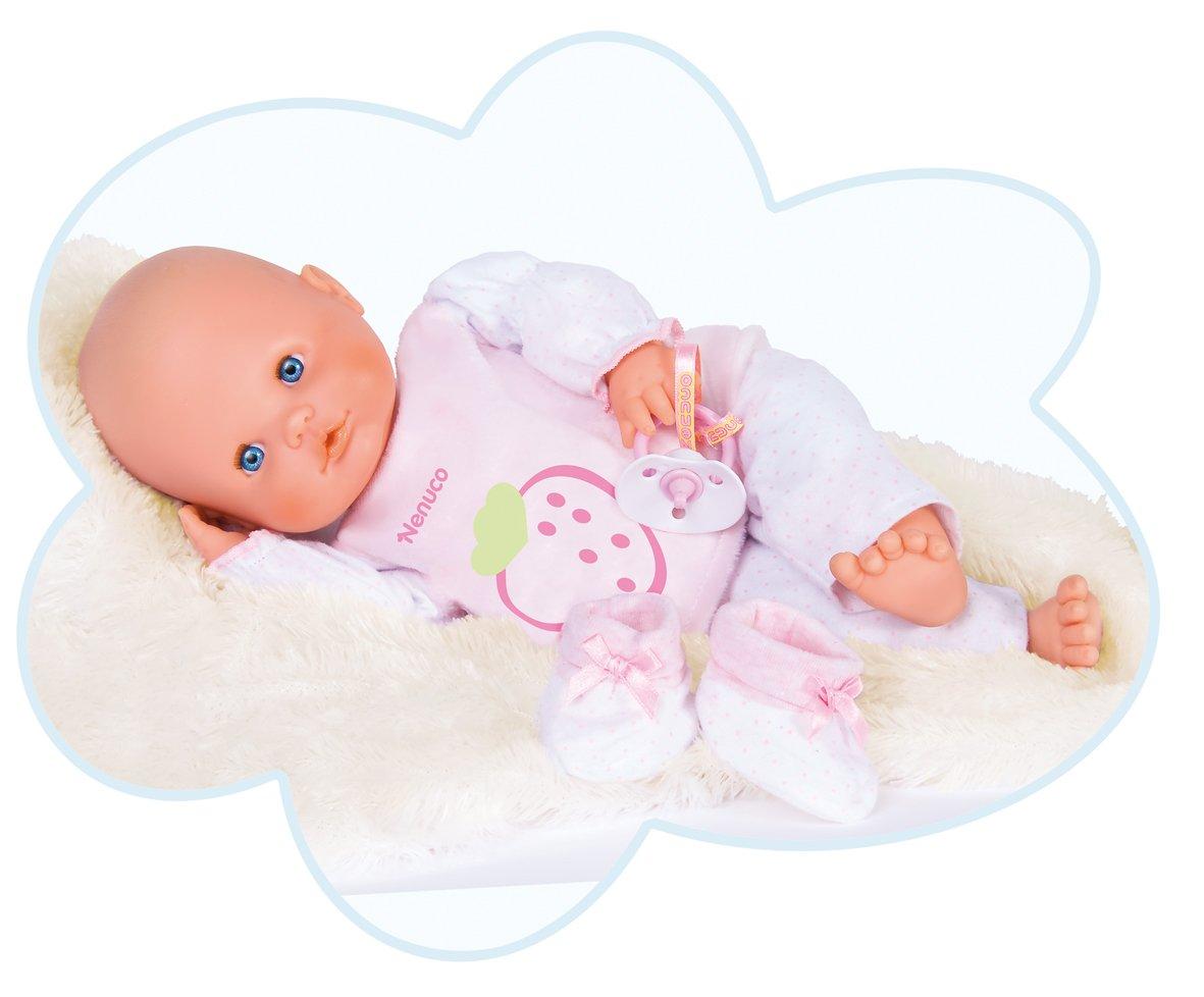 famosa nenuco mi primer nenuco muñeco bebé blandito con oso de