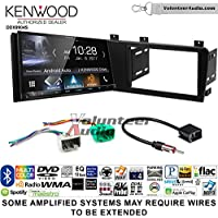 Volunteer Audio Kenwood DDX9904S Double Din Radio Install Kit with Apple CarPlay Android Auto Bluetooth Fits 2005-2007 Volvo S60, V70, XC70