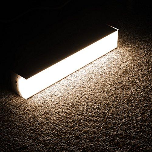 Lagute 1FT Tube 10W Daylight 3500K LEDGo Linkable LED System | Create Your Own DIY Custom Light Fixtures | Perfect for Office, Basement, Photo Studio, Closet, Warm White