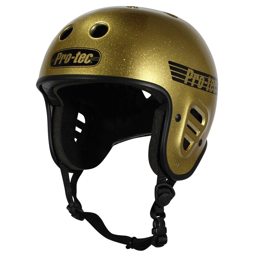 Pro-Tec Full Cut Skate, Gold Flake, XS