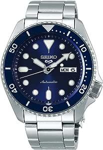 Seiko 5 FaCELIFT, 10 Bar water resistant, Calendar, Blue dial Men's watch SRPD51K1