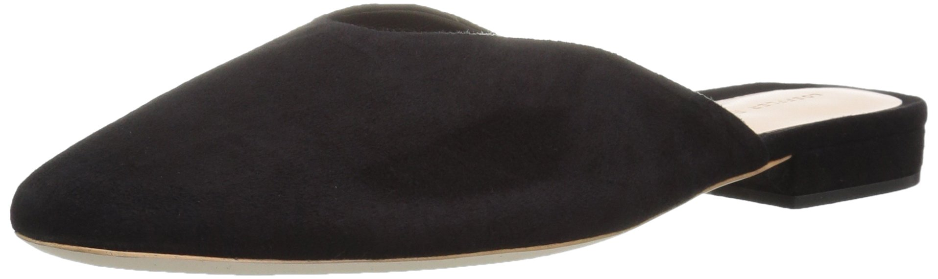 LOEFFLER RANDALL Women's Quin (Kid Suede) Driving Style Loafer, Black, 8 M US