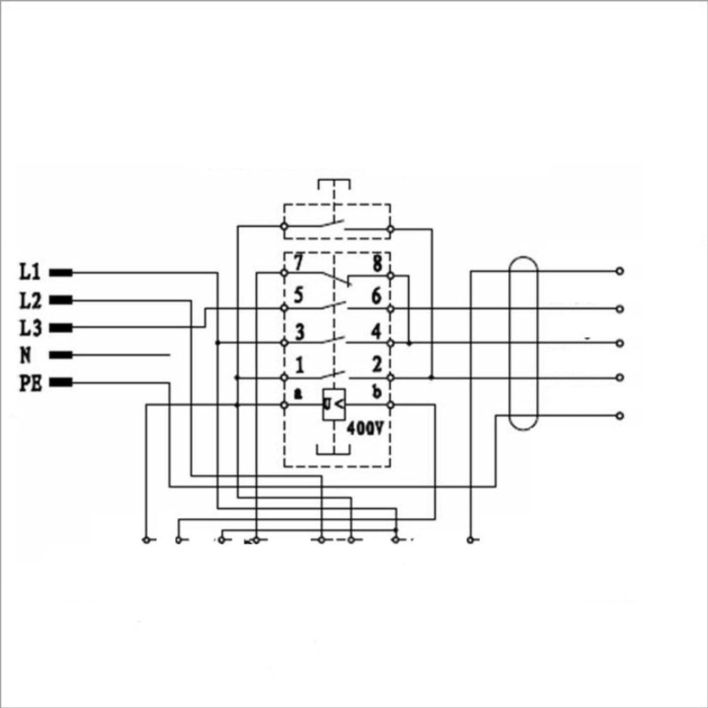 BUZE Orginal KEDU KOA 12 Schalter 400V mit Notaus für Motor ...