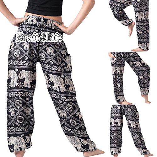 Indian Costume Ideas Diy - Elephant Pants Women's Comfy Pants Elephant Design