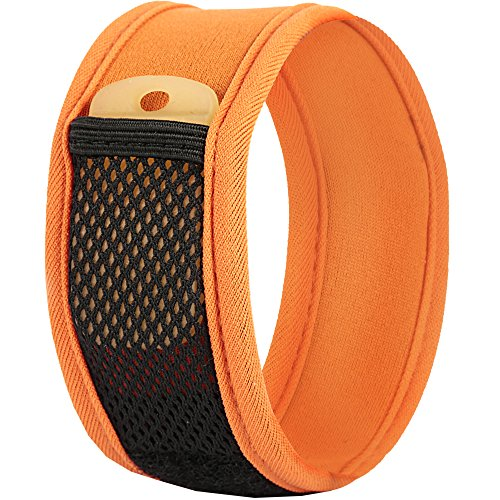 100% Natural Mosquito-Insects Repellent Bracelet by Noshi Outdoor prevents Bug bites-Deet Free Band act as Bite Blocker & Pest Repeller- Essential Oil based-Adjustable-Safe for children-2 Refills