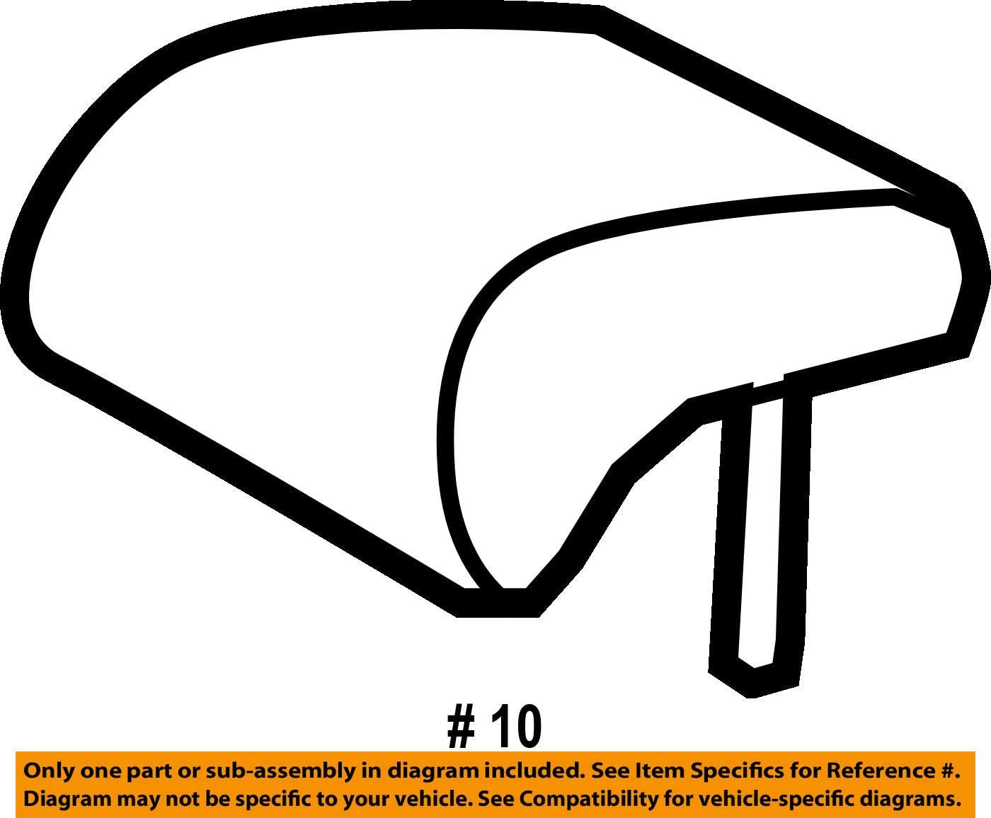 TOYOTA Genuine 71960-12510-B0 Headrest Assembly