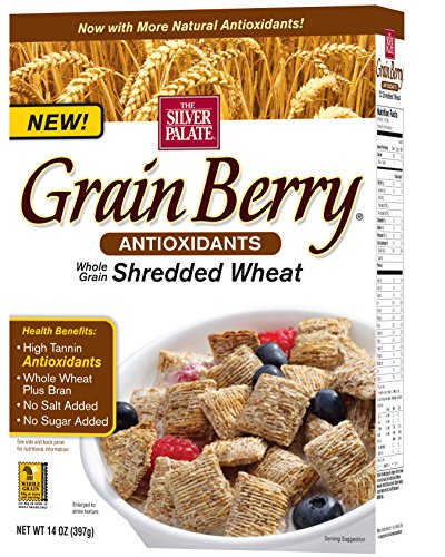 Grain Berry Shredded Wheat, 14 Ounce by Grain Berry