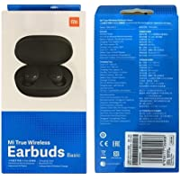 Fone de Ouvido Xiaomi Mi True Basic Bluetooth Earbuds ZBW4480GL - Negro
