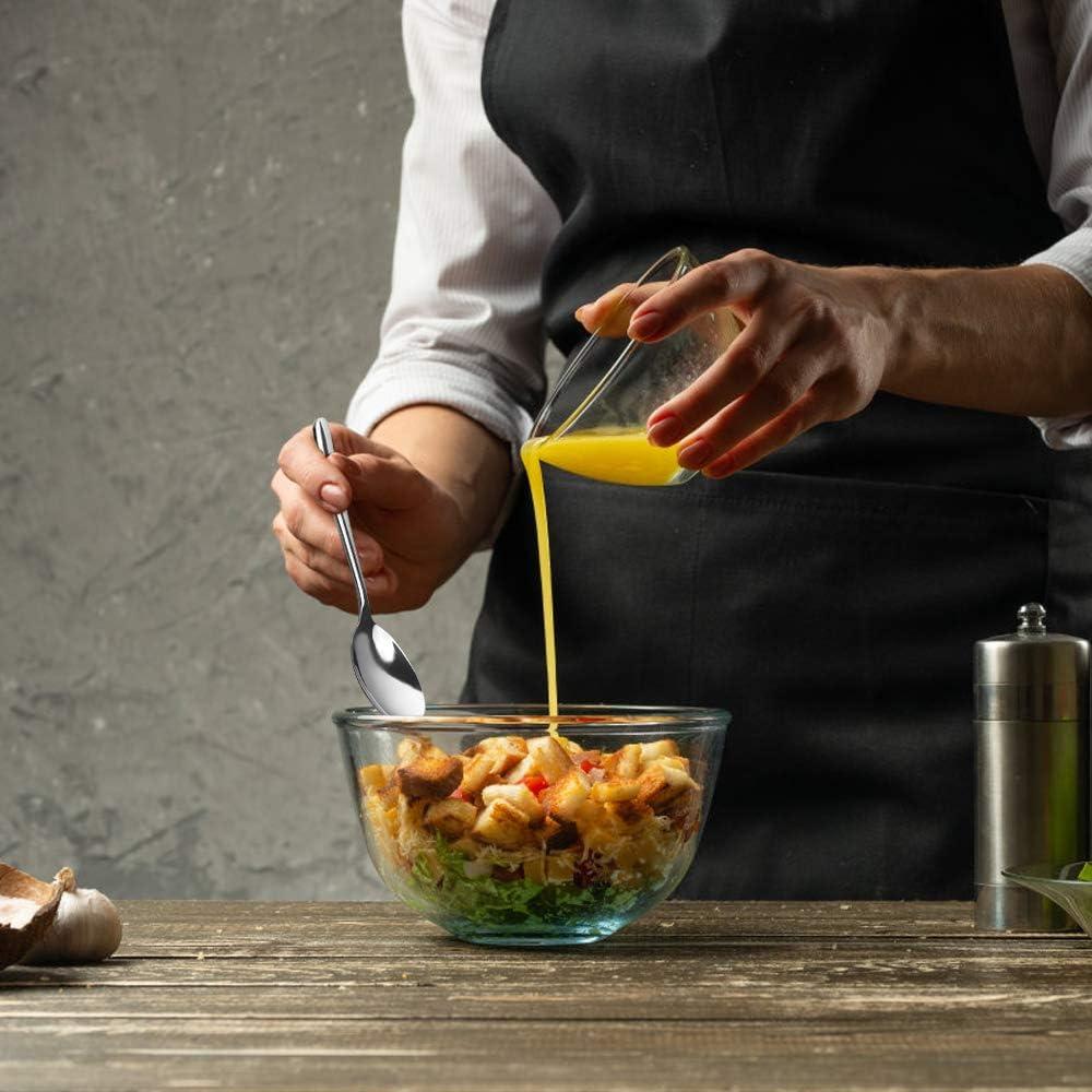 Cucchiai da Minestra Inox Parlynies Cucchiaio Grande da Servizio Set di 6