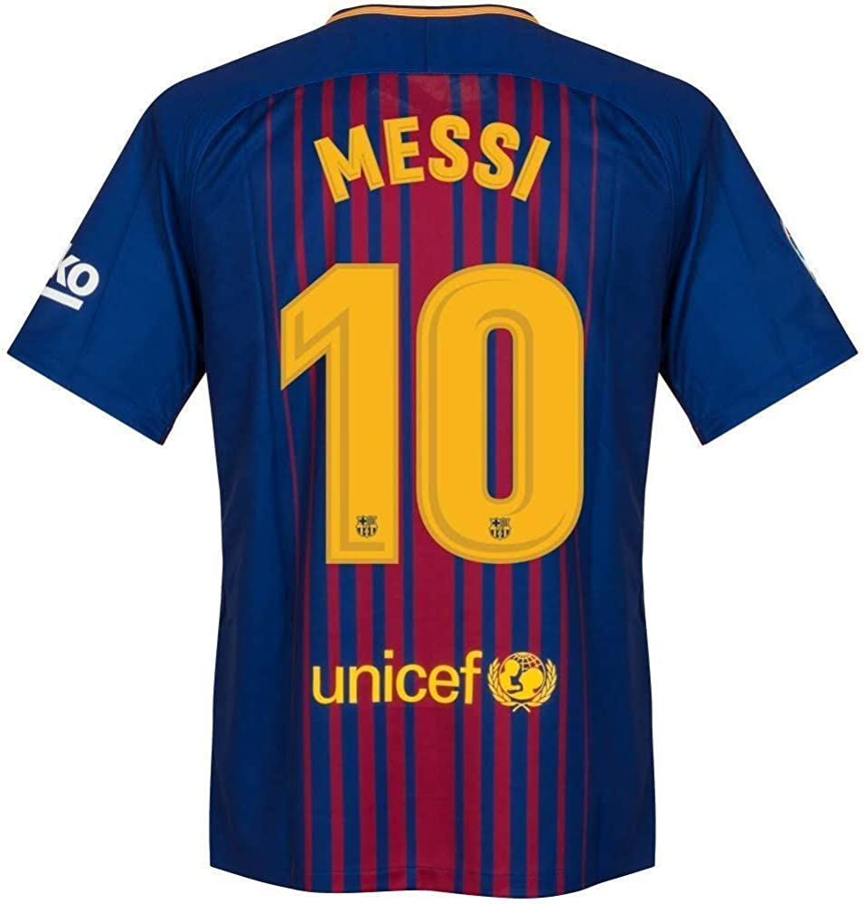 Barcelona Home Messi Jersey 2017/2018 (Official Printing)