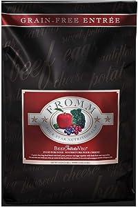 Fromm Four Star Grain Free Beef Frittata Veg Dry Dog Food 5Lb