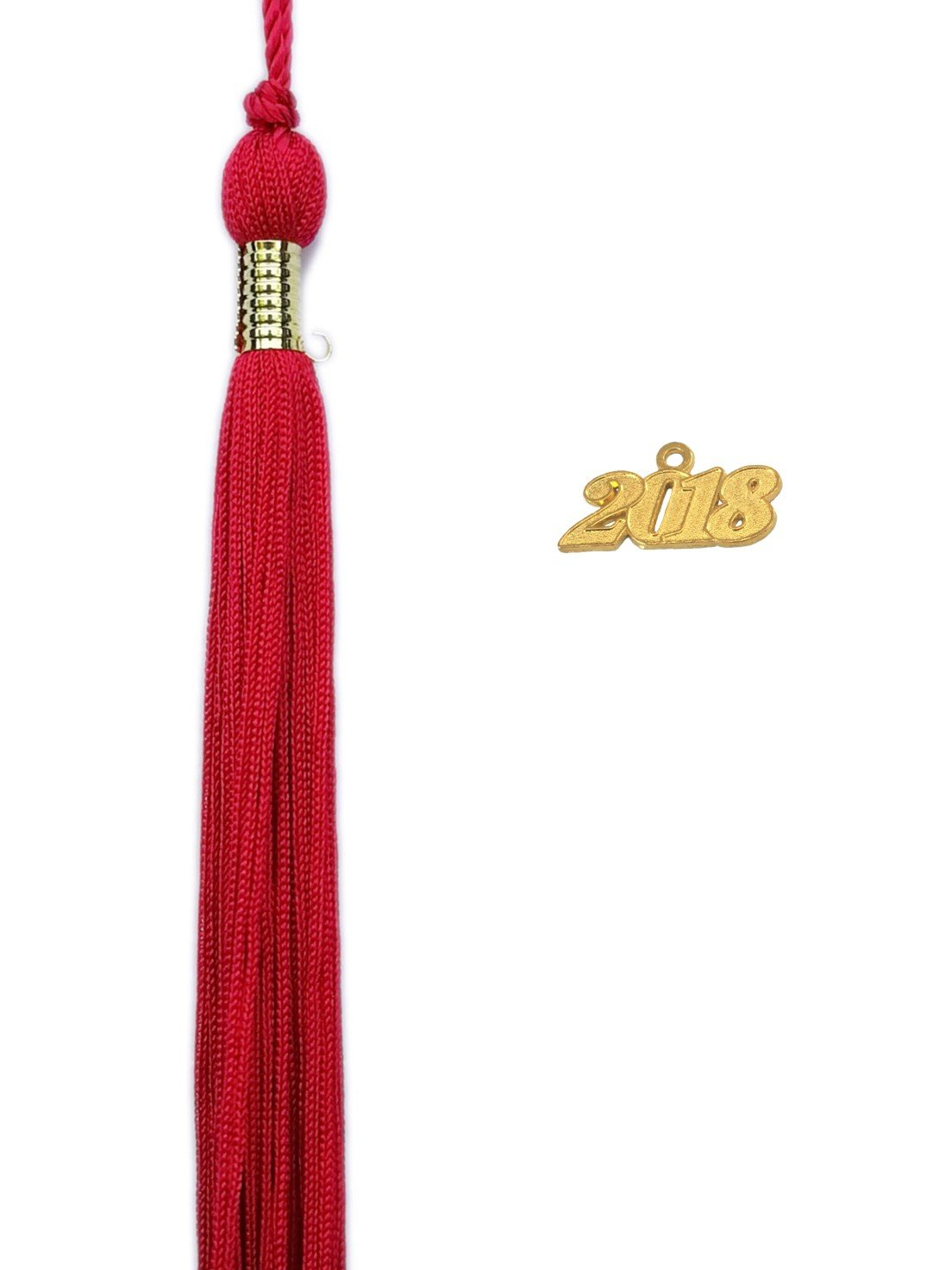 Royal Blue and Gold Graduation Tassel Year 2018 with gold charm MultiColor Quality Grad